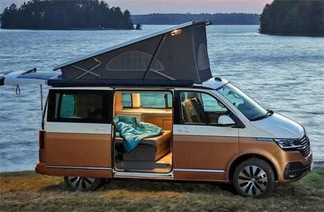 This luxury campervan has numerous fantastic features